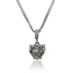 My Heart of Hearts Diamond Heart Pendant
