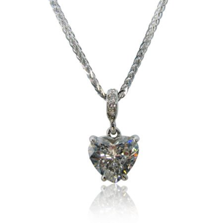 My Heart of Hearts Diamond Heart Pendant