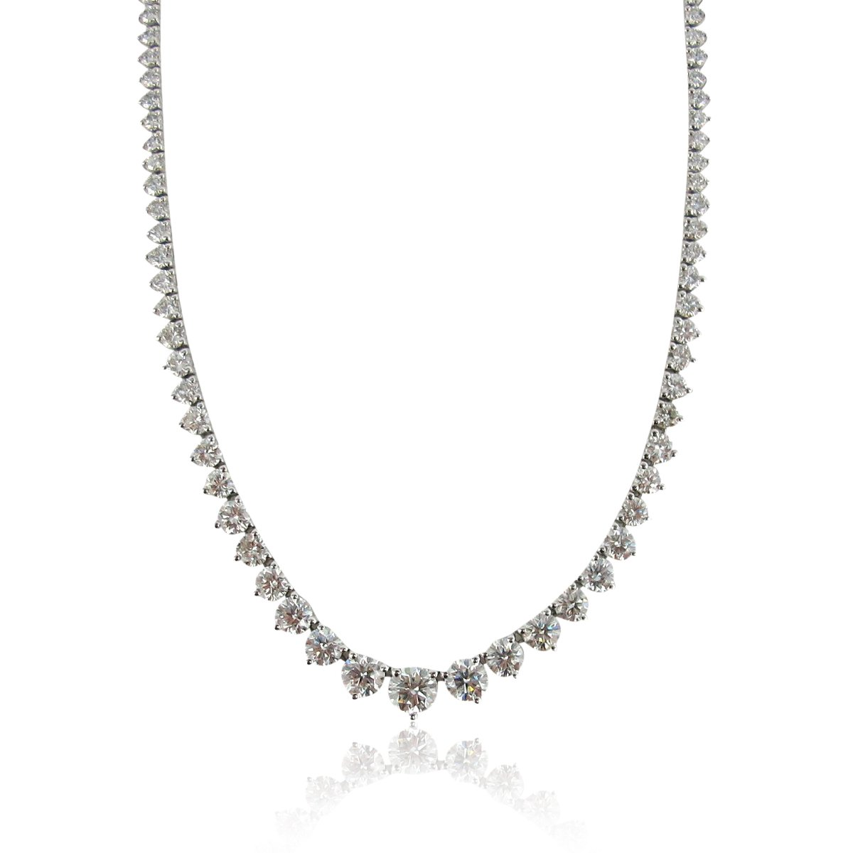 6.08carats Rivera Diamond Necklace 6835-41D  213122f8eaef