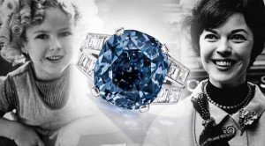 Shirley Temple's Blue Diamond at auction 4-19-16