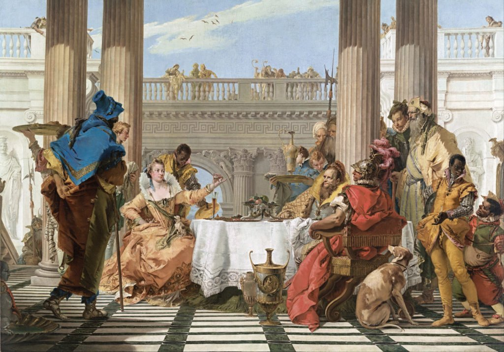 The Banquet of Cleopatra by Giambattista Tiepolo, 1744