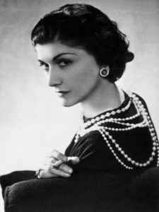 """""""I think that pearls are understated"""" said Coco Chanel."""