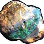 Halley's Comet Opal
