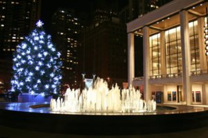 Holidays at Lincoln Center