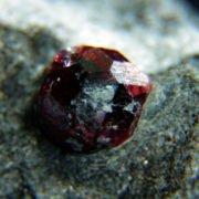 Rough Garnet, Bella Vista Mines, Alaska