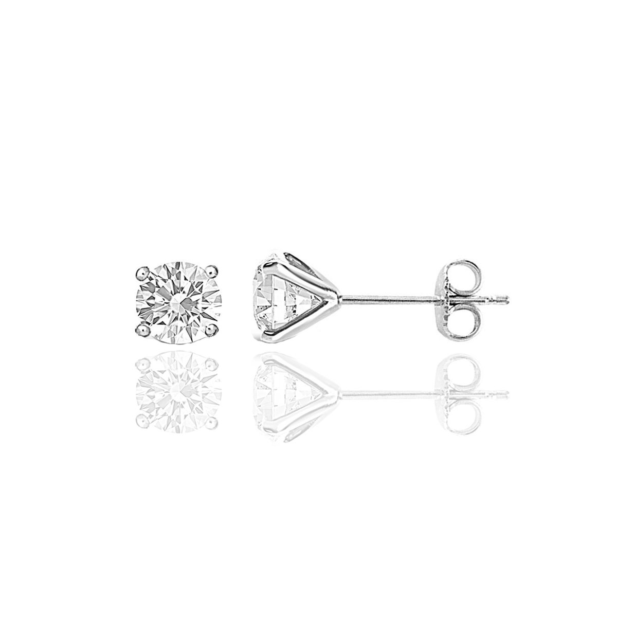 1 CT TW Diamond Studs
