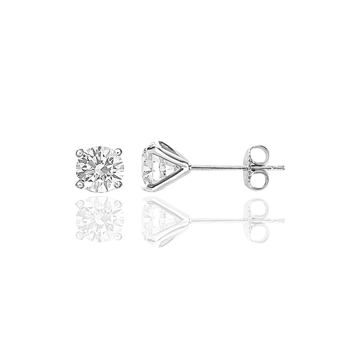 1 CT TW Diamond Studs