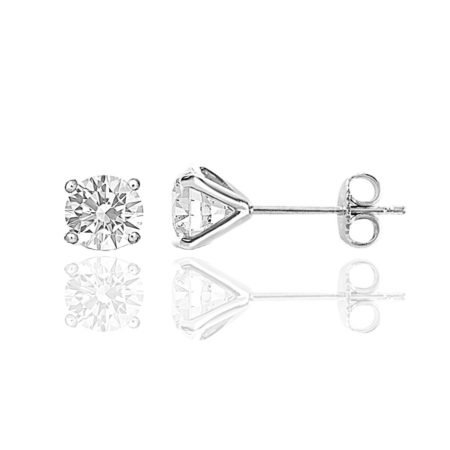 2 CT TW Diamond Studs