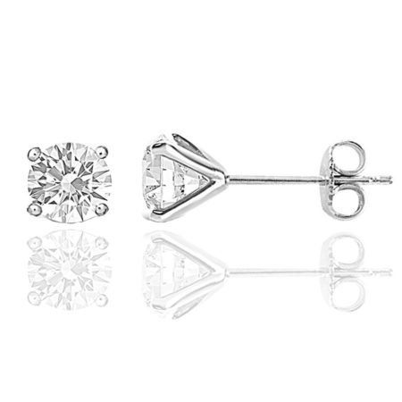 3 CT TW Diamond Studs