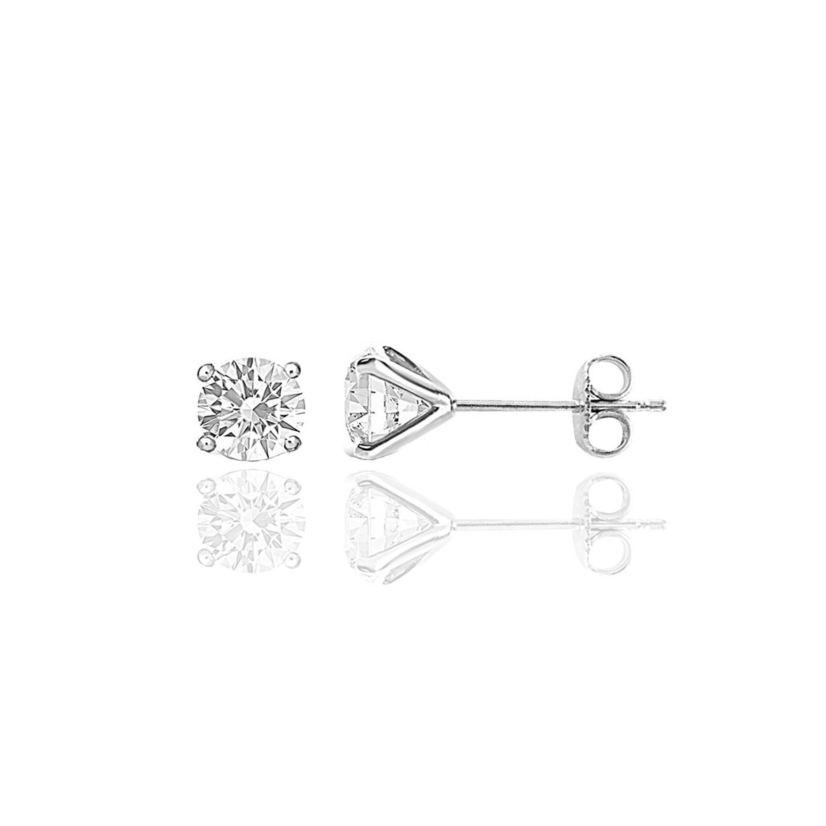 .75 CT TW Diamond Studs