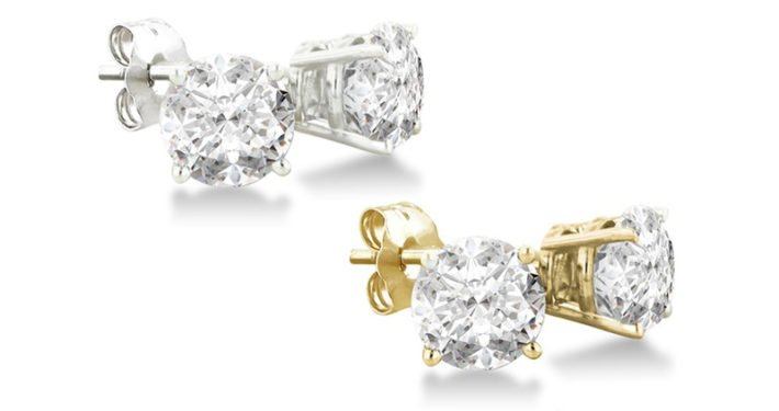 Diamond Stud Earrings, Diamond Essentials, Diamond Jewelry, Holiday 2017,Jewelry Gifts, Jewelry Gift Guide