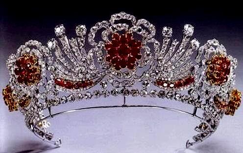 The Burmese Ruby Tiara