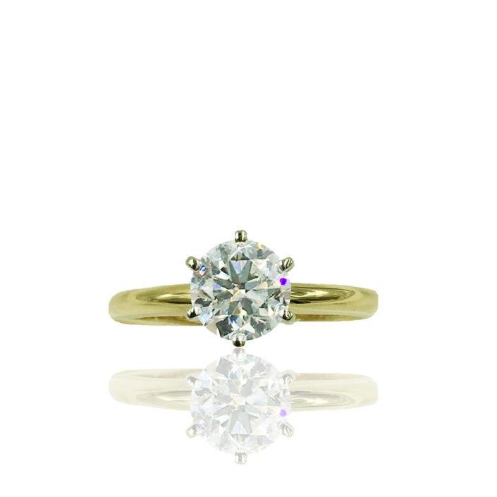 Caitlyn Custom Engagement Ring