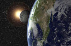 Earth, Sun, Moon Alignment