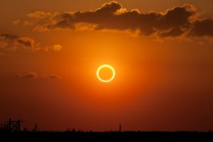 Ring of Fire During Annular Eclipse