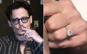 Johnny Depp Engagement Ring