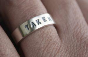 taken mangagement man's engagement ring