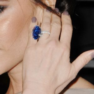 Victoria Beckham's Ring from Soccer Hubby David