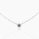 Diamond Pendant, Bezel Set, Diamond Essentials, Holiday Gifts, NYC Diamond District, Natural Round Brilliant Diamond, Diamond Values, 20 Days of Diamonds