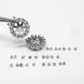 14kwg earring jacket studs, 20 days of diamonds, halo jackets