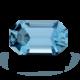 Polished Aquamarine Gem