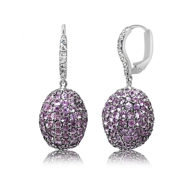 Pink Sapphire Egg Earrings Feature Jpg